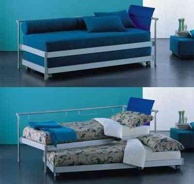 Div n cama un concepto pr ctico para ahorrar espacio for Camas divan juveniles