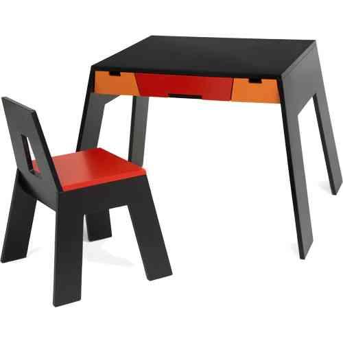 Set Silla Y Escritorio De Dansk Design
