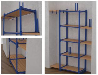Estanter a adapt - Como hacer estanterias de madera ...