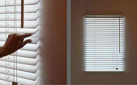 ponerla en tu pared es tan facil como colocar la persiana en una pared