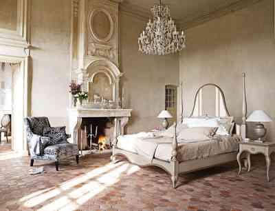 Dormitorio provenzal de diseño