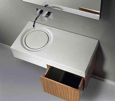 Lavabos futuristas de sanindusa for Lavabo minimalista