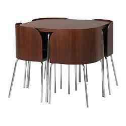 Ikea Conjunto De Mesa Y Sillas.Mesa Fusion De Ikea El Diseno En Casa