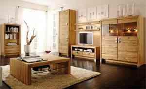 salon rustico moderno 300x184 Muebles modernos con un toque rústico